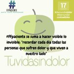 #diamundialcontraeldolor Twitter Photo