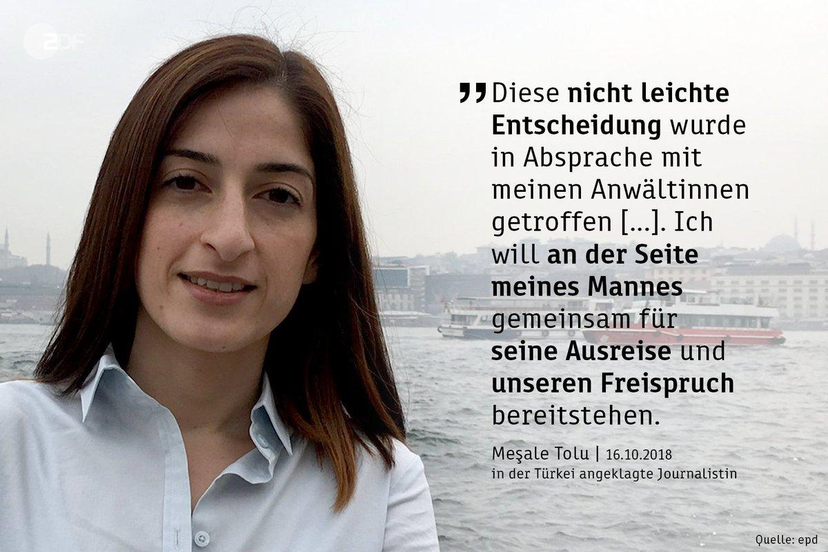 Reise zu Prozess in die Türkei - Mesale Tolu will 'starkes Zeichen' setzen https://t.co/OsI1Sc7dC1