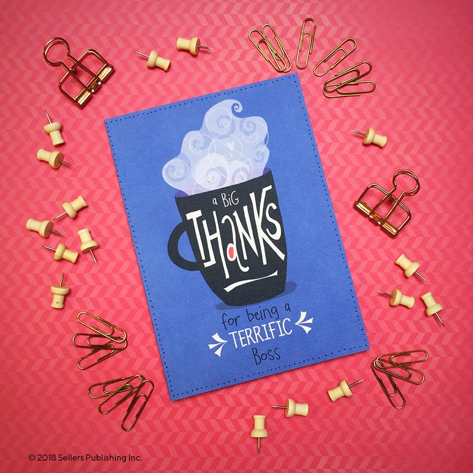 Sellers publishing sellersmedia twitter greeting card art amy dietrich rsvp all rights reserved bosssday boss office officelife paperlove greetingcards stationery cards bossesday m4hsunfo