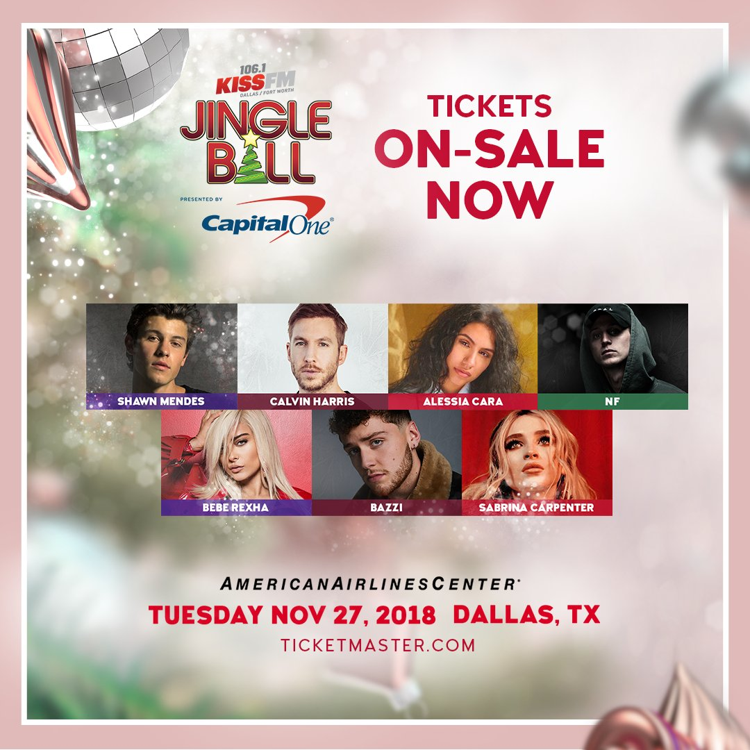 Tis the season for #KISSJingleBall - tickets are on-sale NOW! 💫 You dont want to miss this show, get your tickets TODAY! Get Tickets: ihe.art/Voe22N3