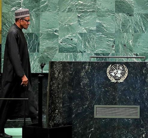 Africa's number one economy is being made proud on the world stage by its president @Mbuhari #UNGA #TogetherNigeria<br>http://pic.twitter.com/eVXMH3YbHr
