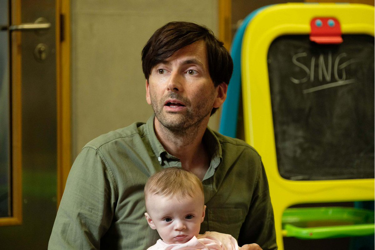 There She Goes which stars Jessica Hynes and David  Tennant and tells the story of a family coping with a disabled child is starting on @BBCFOUR soon -  and it's brilliant #ThereSheGoes https://t.co/xRTm4N45b8