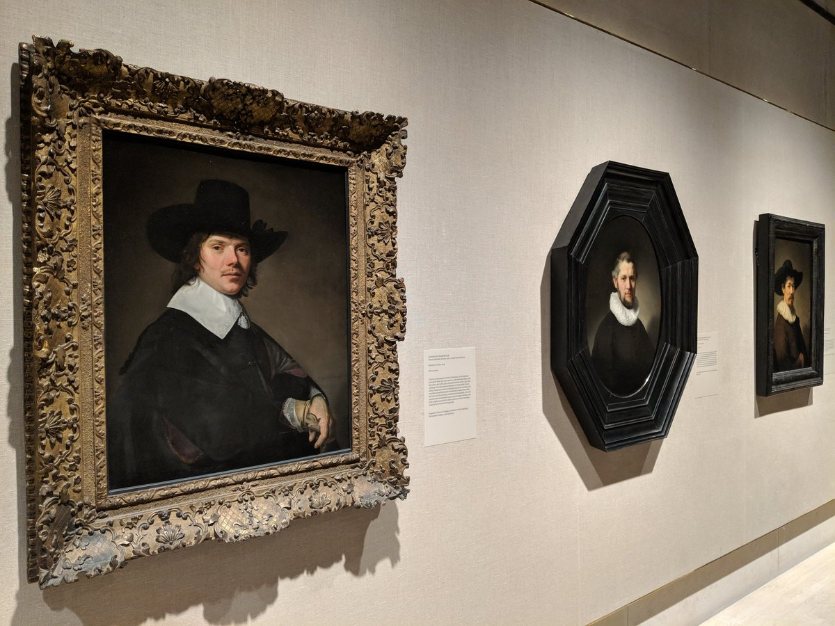 """On the lower level, """"In Praise of Painting: Dutch Masterpieces at The Met"""" presents The Met's fabled seventeenth-century Dutch paintings in a new light #MetDutchMasterpieces."""