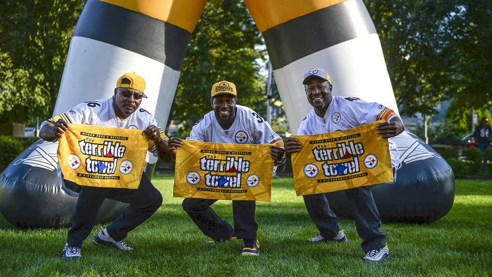 The weekend squad. #SteelersNation #HereWeGo