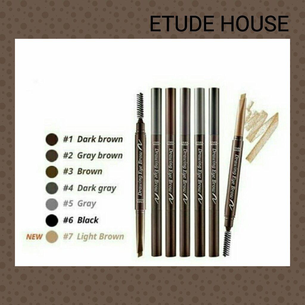 Etudehousedrawingeyebrow Photos And Hastag Etude House Drawing Eyebrow Ad Crayon Swatch Jjoyis Tender Of Beauty New