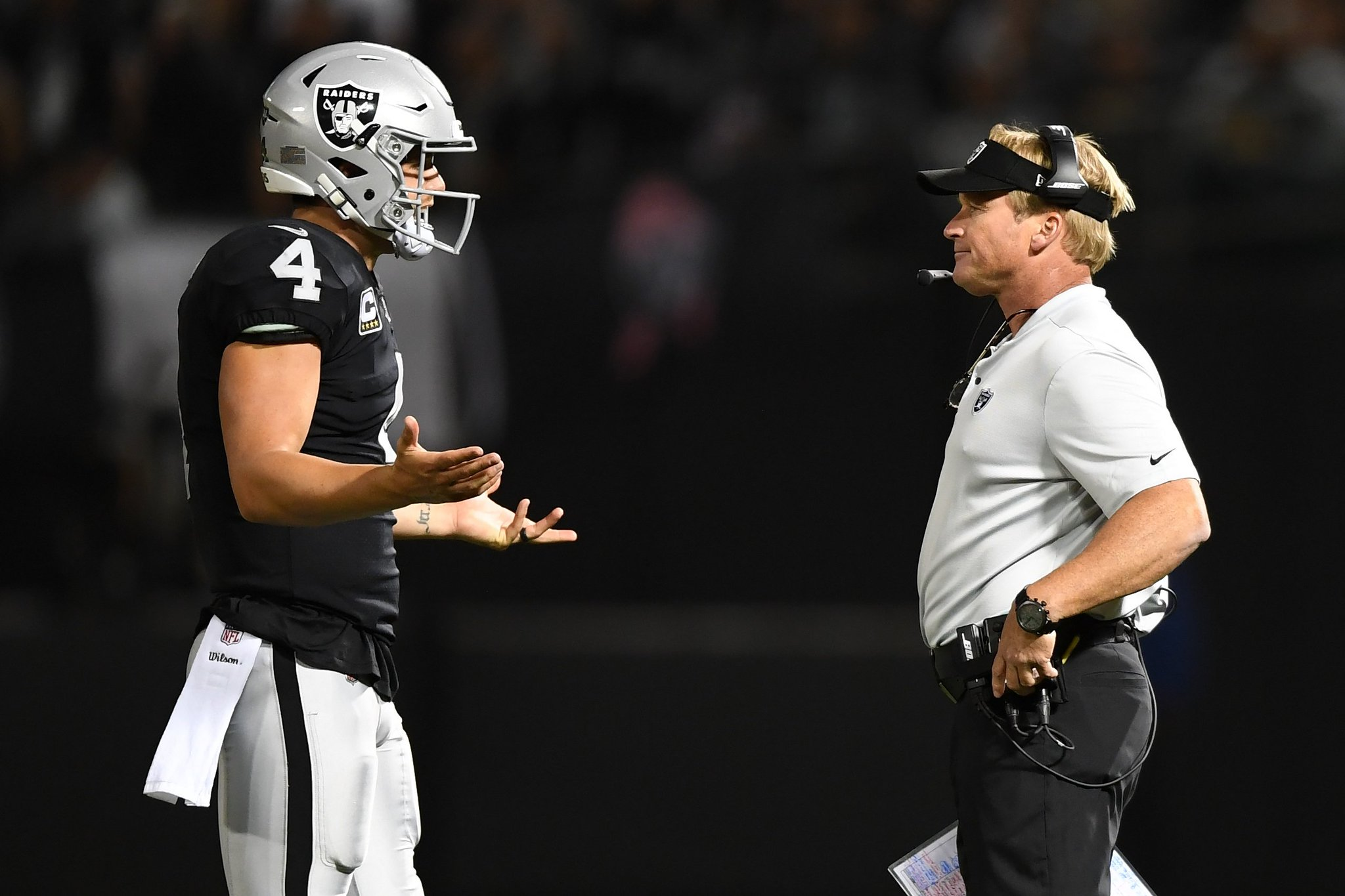 The Raiders are the worst team in the NFL right now.  Our Week 7 power rankings: https://t.co/z9CSEIPqgy https://t.co/Ki9UUpBbBf