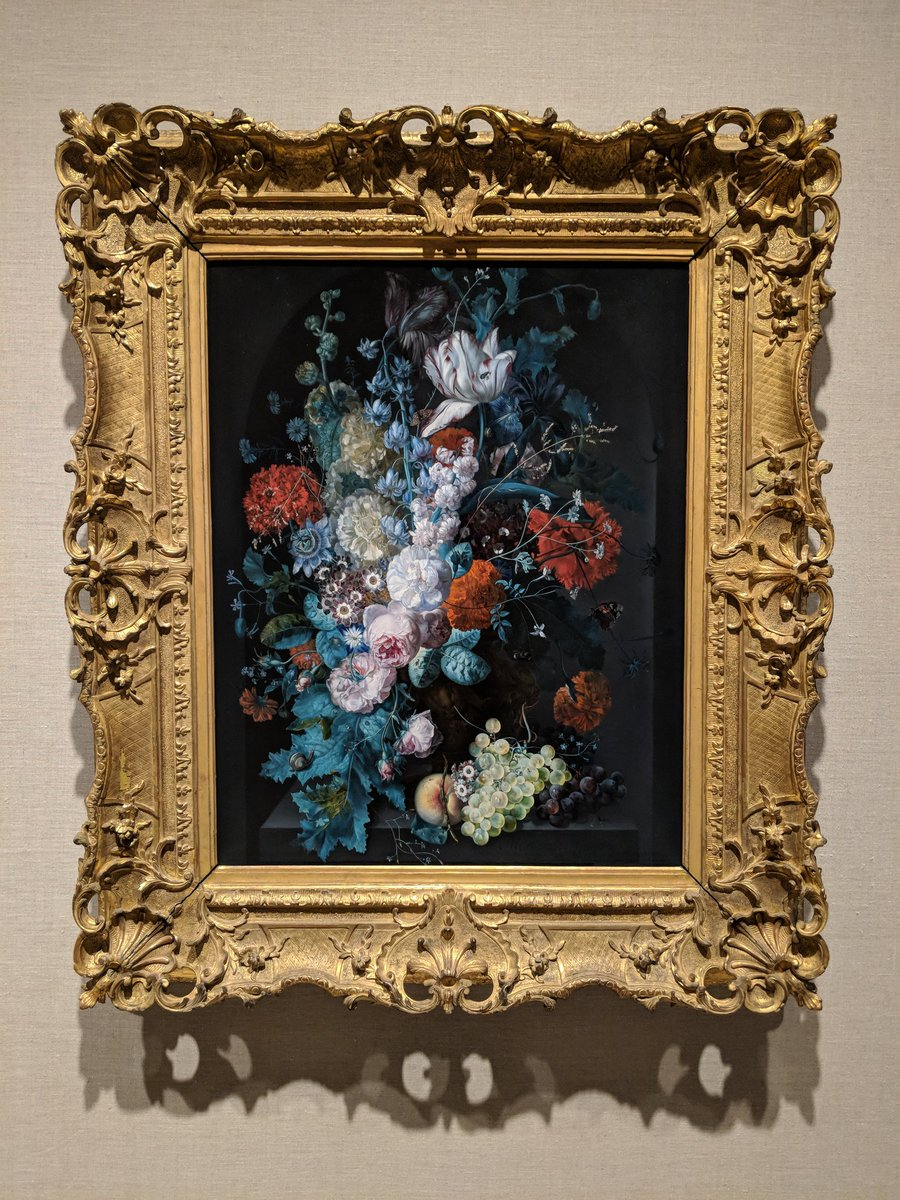 """#MetDutchMasterpieces  displays rarely exhibited paintings including Margareta Haverman's """"A Vase of Flowers""""—the only painting by an early modern Dutch woman currently in The Met collection."""