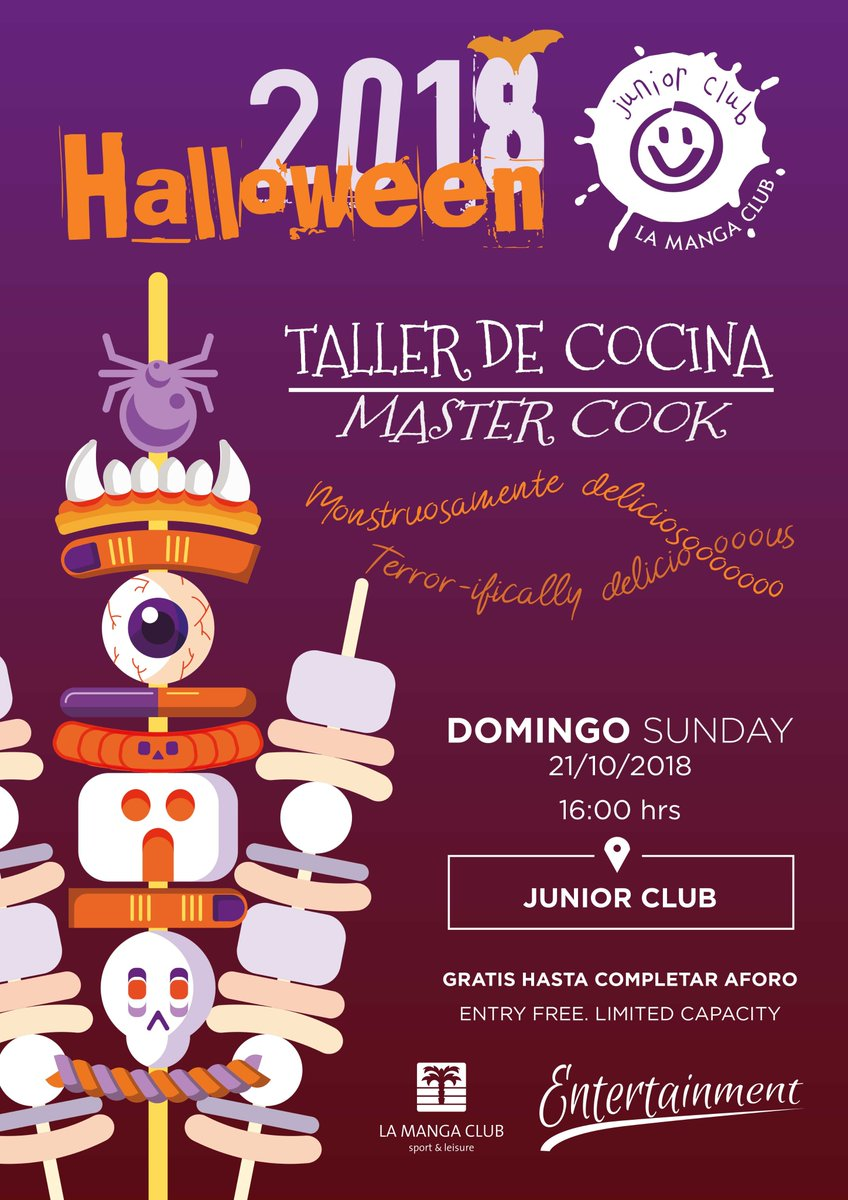 This is the first Hallowen activity that will kick start our Special Junior Club Halloween! 10 days from 21st - 31st October, filled with `terrifying` activities for children from the age of 3. Dont miss out! You wont find a programme quite like it anywhere else...🧛 ♂️🧟 ♀️🧟 ♂️