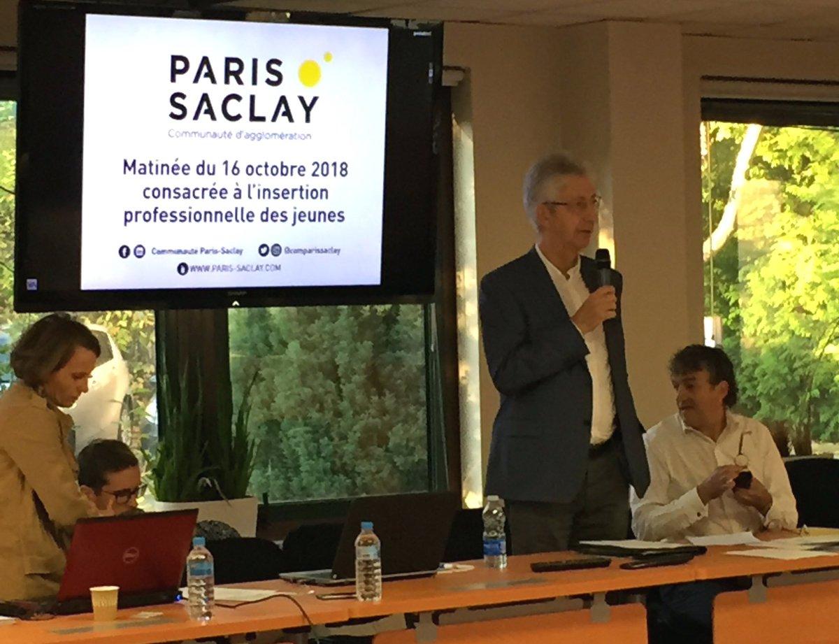 Une politique d'insertion professionnelle plus efficace 🏃♀️Comment manager la #générationZ 🧞♂️L'agglo #ParisSaclay et son VP emploi & insertion #DominiqueFontenaille réunit ses partenaires pour innover ensemble en faveur de l'emploi https://t.co/LZpK48vk7V