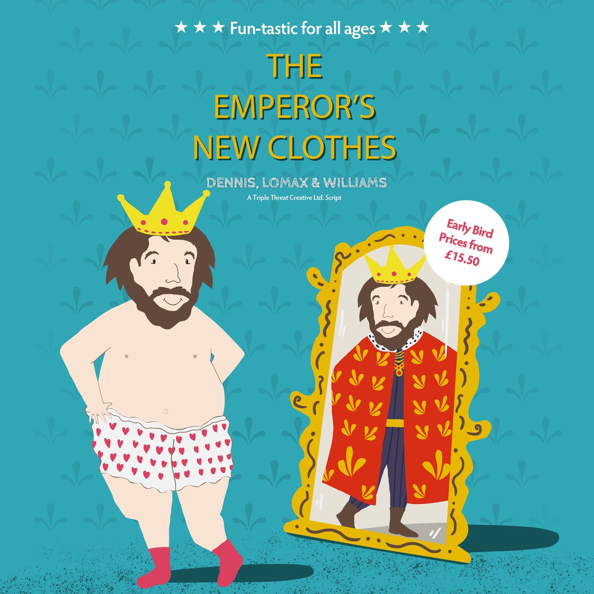Gordon Craig Theatre On Twitter Easter 2019 The Emperors New Emperor Clothes Sale Now Gctstevenage Earlybird Tickets Until 31st January Https Craigcouk I2027