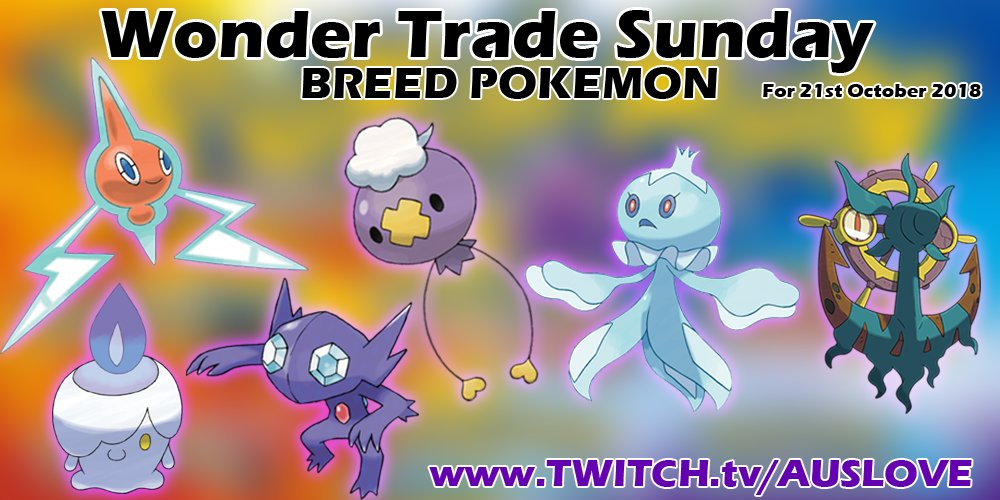 COMMUNITY BREED FOR SUNDAY! Pokemon Ultra Sun and Ultra Moon