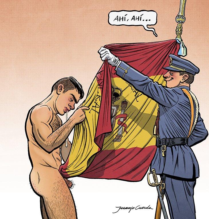 Llevemos el patriotismo aún más lejos. #RompanFilas @eljueves