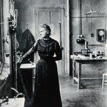 Image for the Tweet beginning: Marie Skłodowska-Curie, Nikola Tesla, Albert