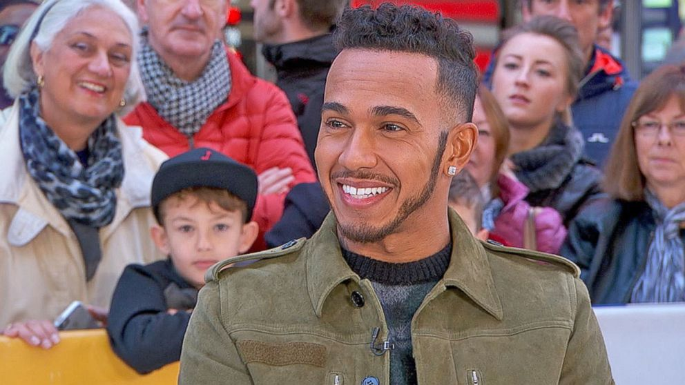 COMING UP ON @GMA: Formula One race car driver @LewisHamilton joins us LIVE in Times Square with @michaelstrahan!