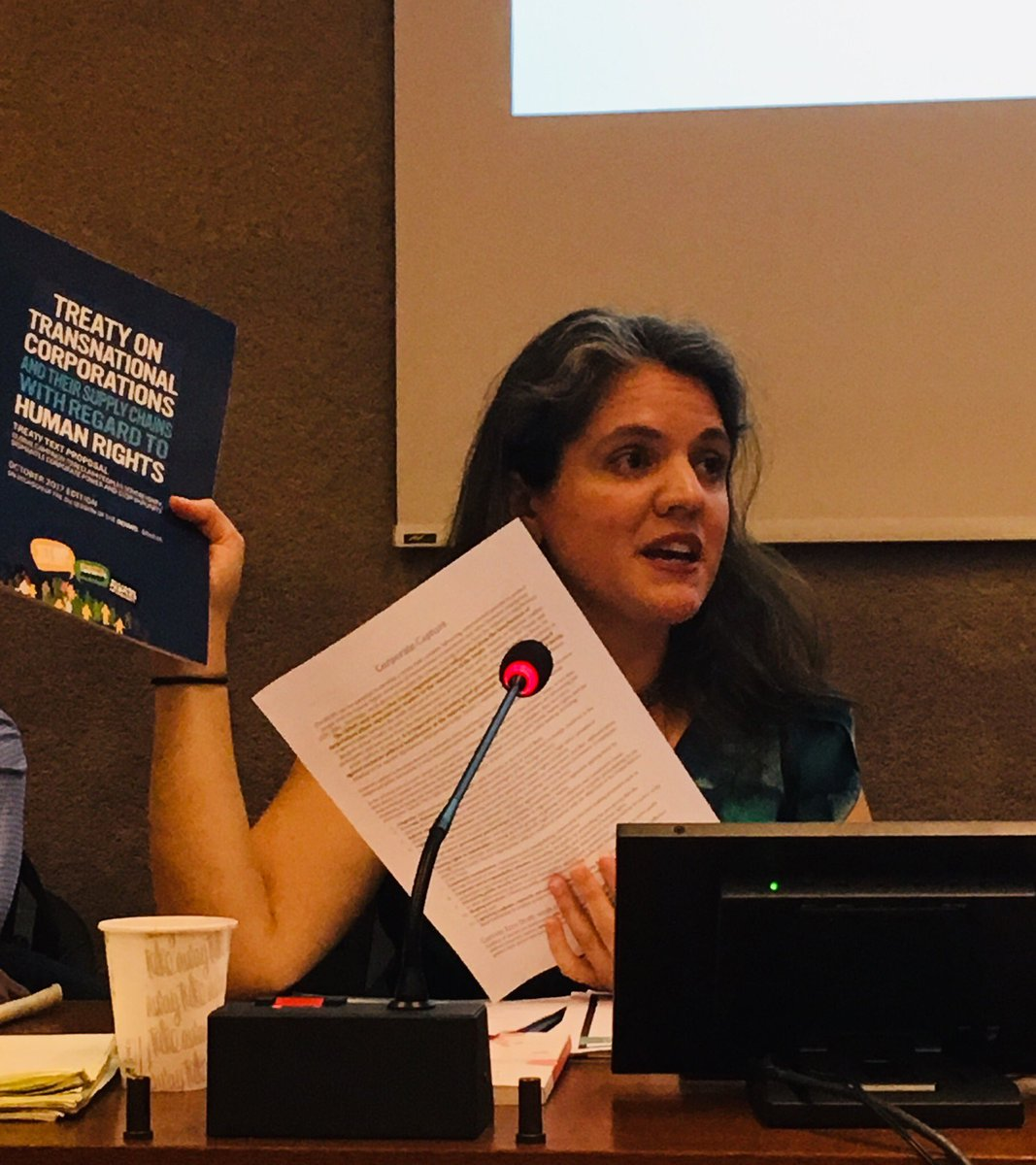 """""""We must act now! Civil society is ready and prepared to stop corporate capture in the #bindingtreaty """" """"let's build from the @FCTCofficial example"""" @StopTNCimpunity @StopCorpAbuse @ESCRNet @TreatyAlliance"""