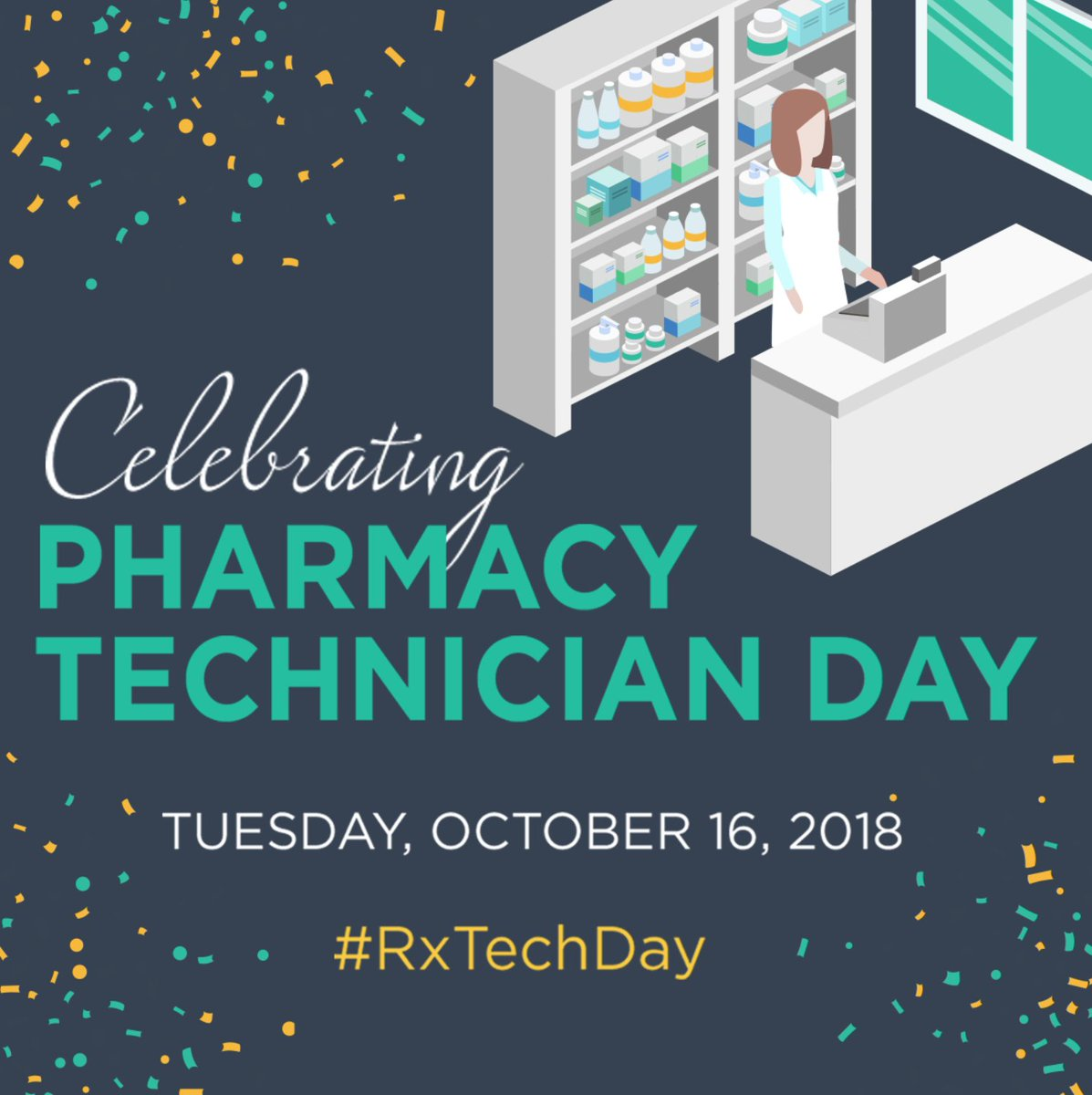 RT @iporpharmacy: Happy Pharmacy Technician Day! #RxTechDay https://t.co/PnJPafTVR2