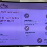Image for the Tweet beginning: Les défis de l'open banking
