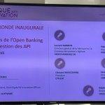 Image for the Tweet beginning: Les défis de l'open banking