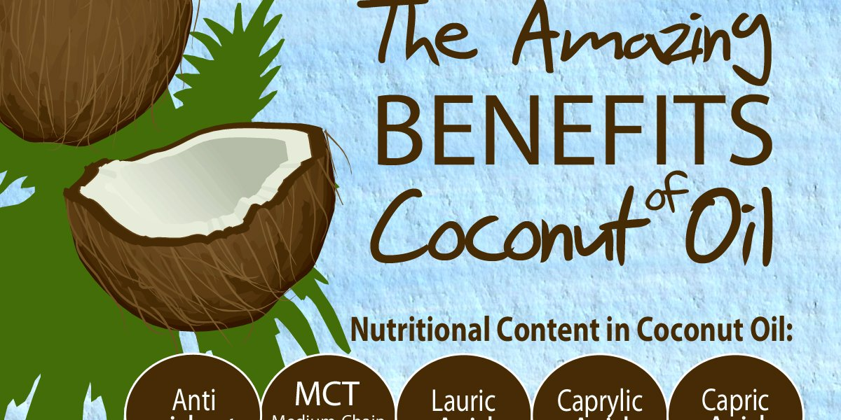 RT The Amazing Benefits Of Coconut Oil Infographic ➡ https://t.co/HqgObOUP8Z https://t.co/Vry6GsVBcP #health #well