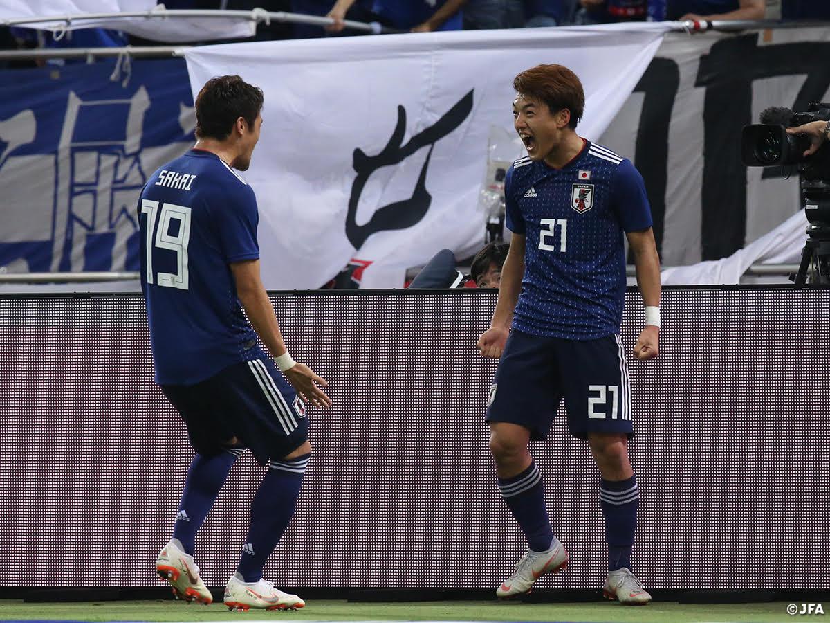 【試合終了!SAMURAI BLUE強豪ウルグアイに勝利!】 キリンチャレンジカップ2018 SAMURAI BLUE🇯🇵4-3🇺🇾ウルグアイ  📺テレビ朝日系列で生中継 #jfa #daihyo  👇大会情報はこちら https://t.co/RwuO96sqf6