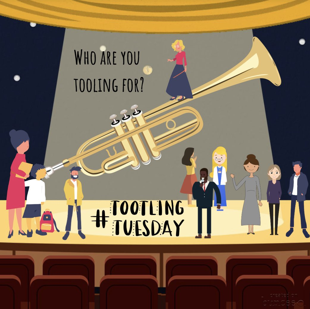 Who are you tootling for? Someone deserves a shout out .... #tootlingtuesday @RaRaPenguin @Buncee