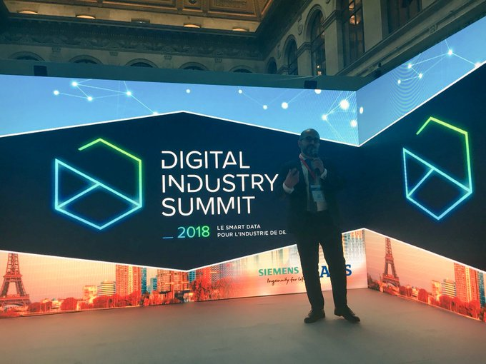 "#DigitalIndustrySummit @CSabarots : ""Today let's discuss how we can digitalize together..."