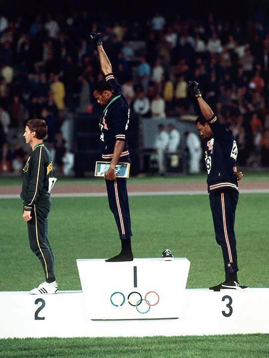 to use our platforms to fight for our brothers and sisters. I dont know if 50 years ago they knew that this moment of resistance would inspire a generation of athletes in 2018 to stand, in solidarity, on their earned platforms and silently shout for those who are often unheard.