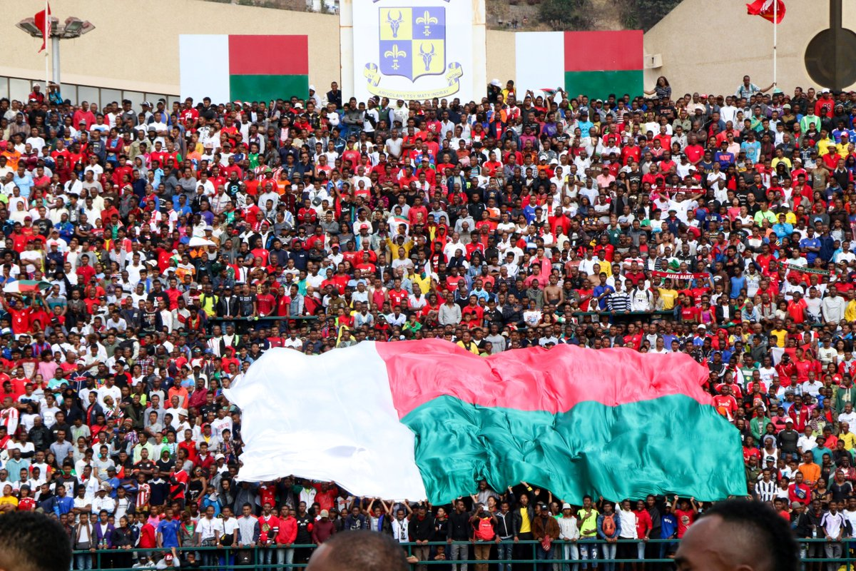A win against Equatorial Guinea means Madagascar has qualified for the Africa Cup of Nations finals for the first time ever 🇲🇬