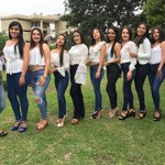 Image for the Tweet beginning: Las candidatas a Reina de
