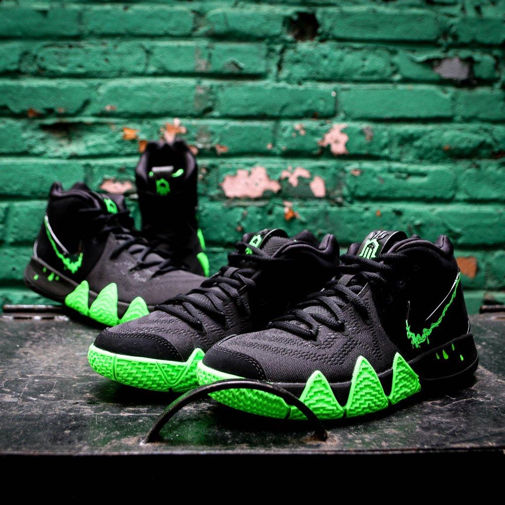 Scary hours. #Nike Kyrie 4 'Halloween