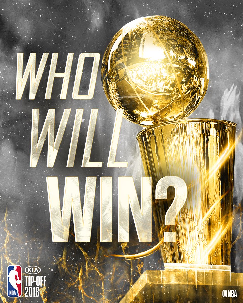 30 Teams, One Dream 🏆 #ThisIsWhyWePlay   On the first day of the season, who do YOU think will win the 2019 title?