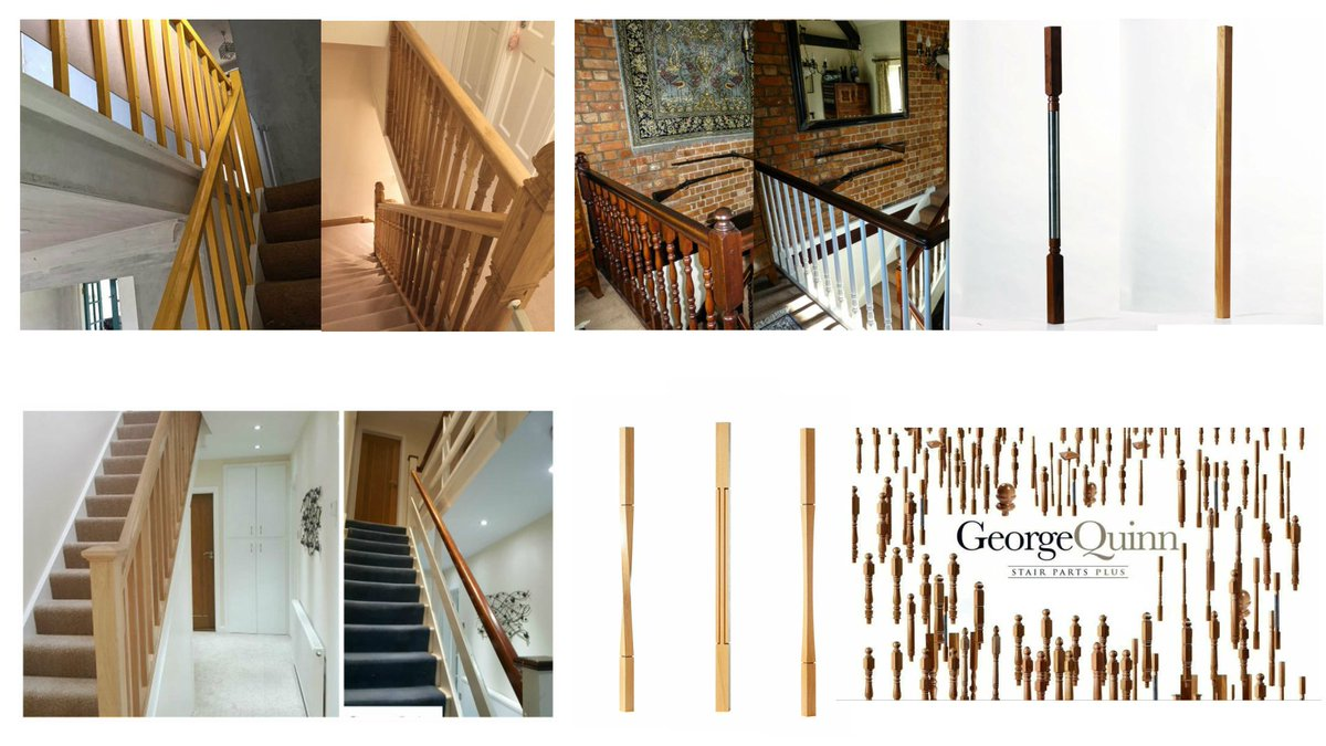 But Have You Considered Even Changing Old Fashioned Staircase #spindles?  Change The Look Of Your Staircase For A Fraction Of The Cost. ...