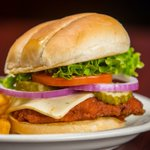 Looking to spice things up today? Our Buffalo Chicken Sandwich is just the meal for you! YUM!