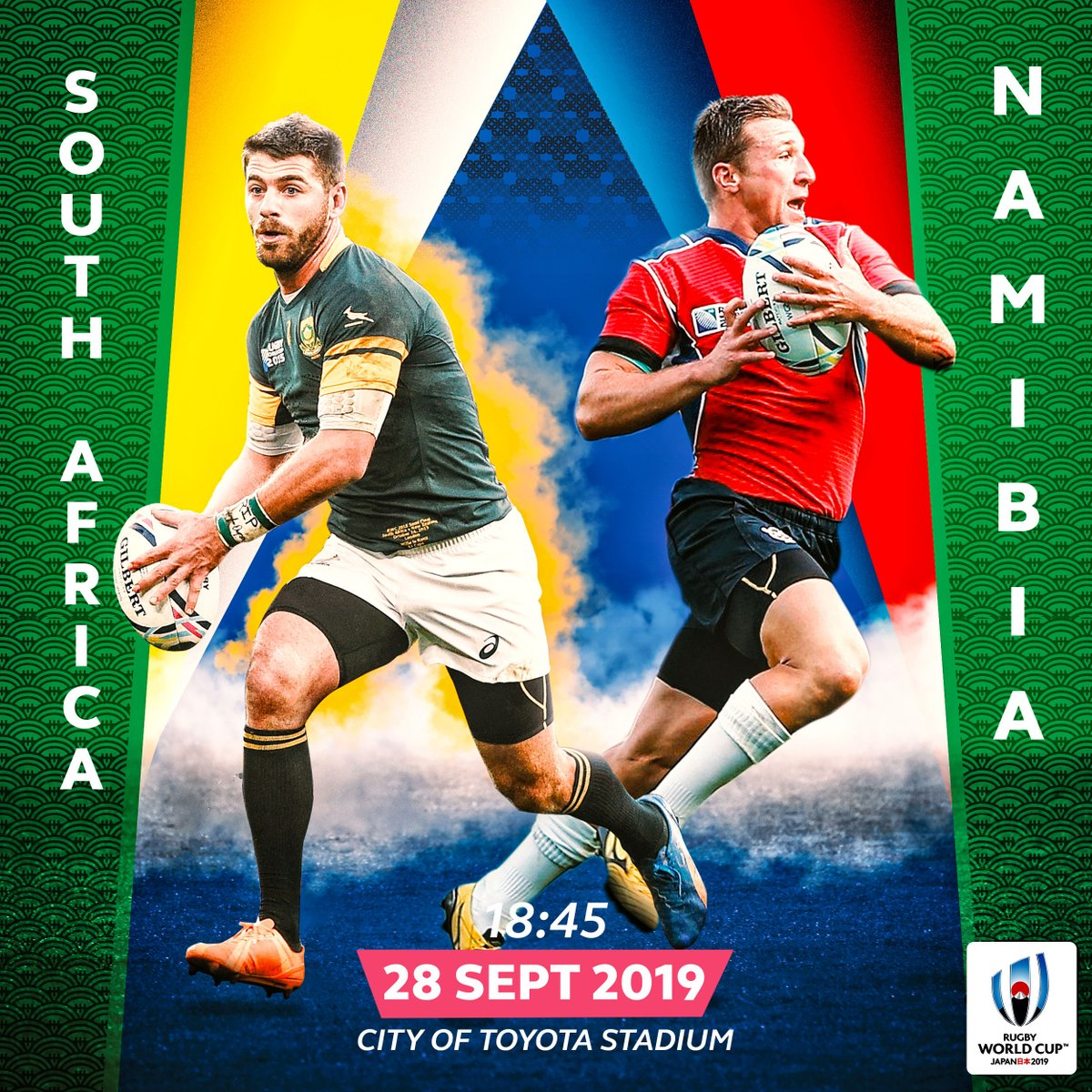 test Twitter Media - Apply for your #RWC2019 tickets through the general ticketing ballot:  Match Focus 🔍  @Springboks v @RugbyNamibia  📍 City of Toyota Stadium  🗓 28 Sept, 18:45hrs (GMT+9)  https://t.co/wiftbbRu2B https://t.co/ynFnTsBwiP