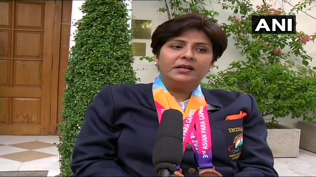 Bronze medallist Deepa Malik says, 'There can be no better encouragement than PM making time for us 70 medalists soon after our arrival'. Bronze medallist Suhas Yathiraj says, 'He said that 'aap medal to ab jite hain isse pehle aap zindagi jeet chuke hain', it was heart-touching'