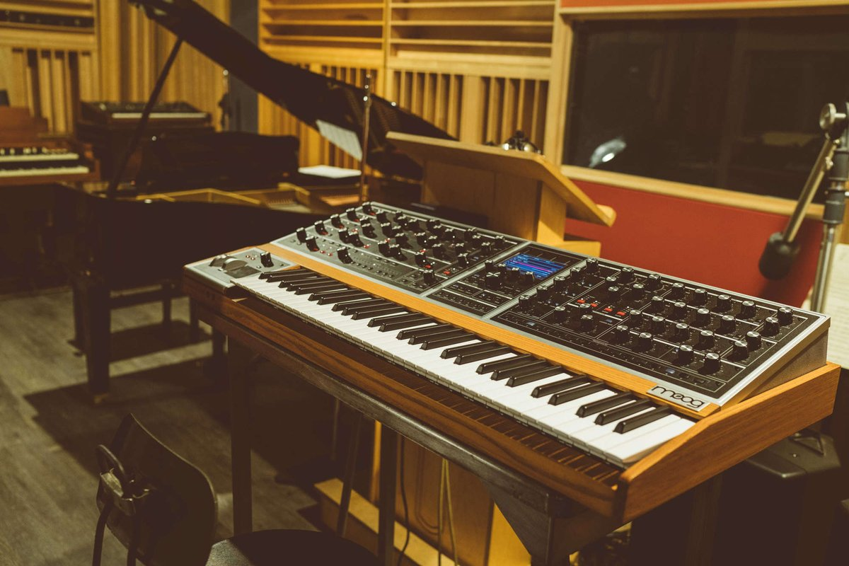 Today at @ADE_NL: NL's 'Keyboard Player of the Year' Niels Broos will explore the new #MoogOne, showing the instrument for the first time in the #Benelux: https://t.co/uXJJiZQxaT
