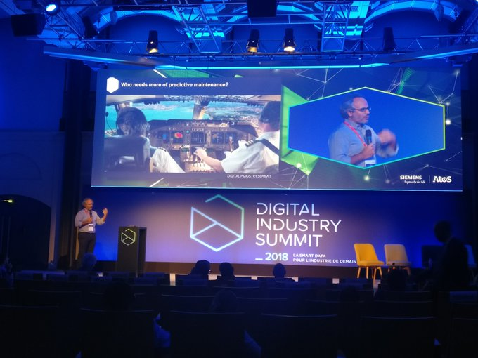 #DigitalIndustrySummit @NVayatis de l'@ENS_ParisSaclay nous parle d'#IA dans l'industrie :