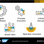 Which one are you? The #SAPinnovation awards will celebrate these categories. Share your story with the world. Learn more. Plan to submit! Learn more in the new blog: https://t.co/3CIxMCqn4t