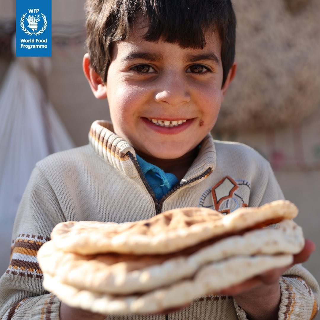 Today is the World Food Day. Join me and @WFP in our mission to end hunger by 2030. Together we can achieve a #ZeroHunger World!   #WFD2018