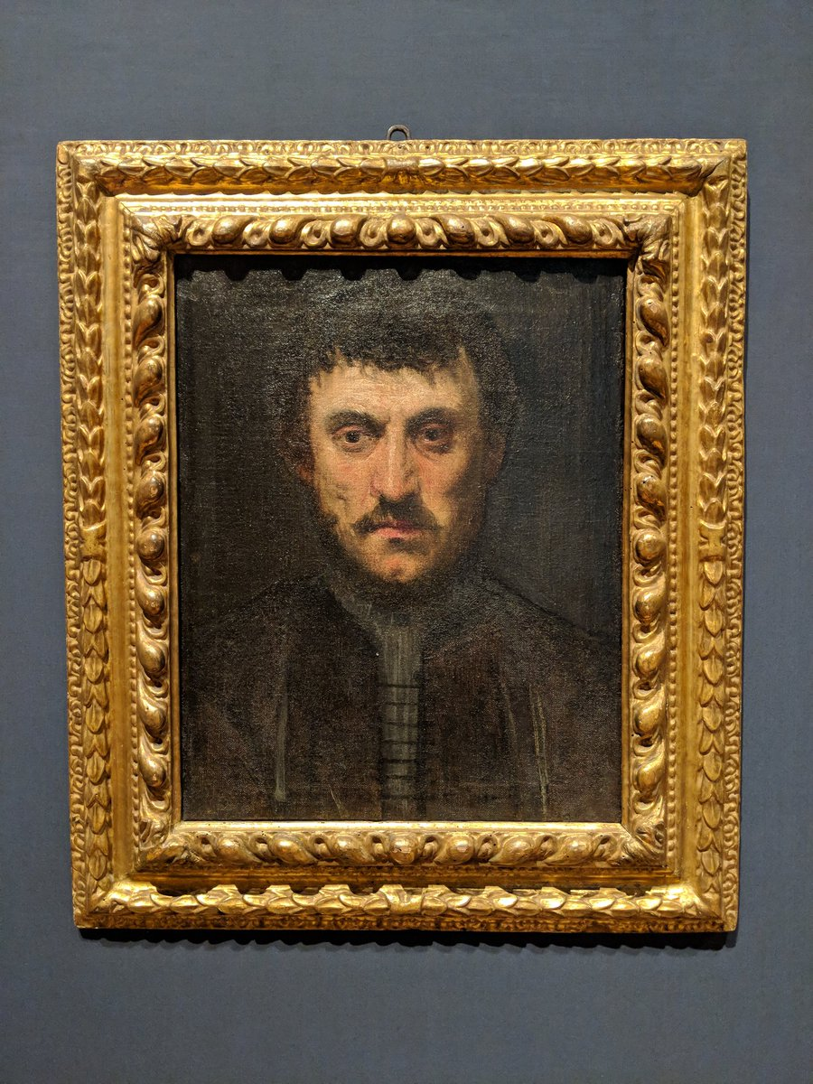 """""""Celebrating Tintoretto: Portrait Paintings and Studio Drawings"""" celebrates the 500th anniversary of the artist's birth #CelebratingTintoretto."""
