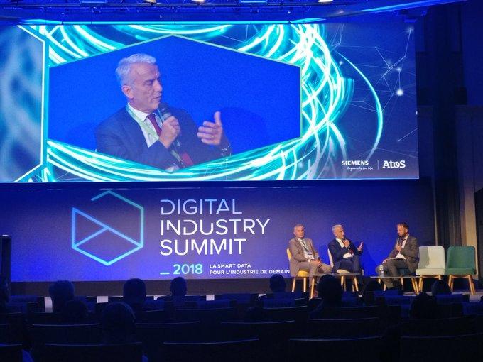 #DigitalIndustrySummit @patrick01martin du @medef : «Je suis convaincu que l'#industrie est l...