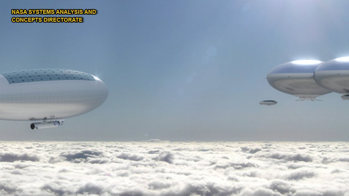 #NASA eyes stunning airship concept to explore #Venus | @FoxNewsTech https://t.co/TUlXxVKXgt