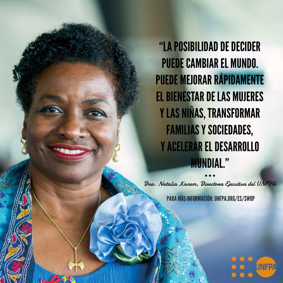 Para proteger el derecho a decidir, todos los países deben priorizar el acceso a la salud sexual y reproductiva, incluidos a los anticonceptivos modernos.  Estas siguen siendo las barreras para que las mujeres ejerzan ese derecho, según el @UNFPA: https://t.co/mJrlXuIvlu