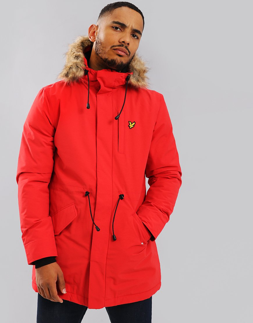 14eed76f New lines on this evening from Lyle & Scott. Featuring the Winter Weight  Parka >> http://goo.gl/8t86XH #Terraces #Menswear #LyleAndScott ...