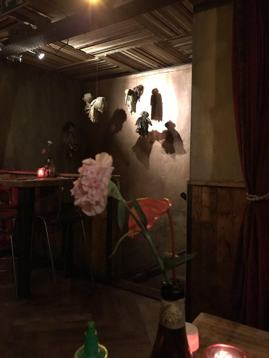 пришли в кафе со словом Cannibale в названии, есть, кажется, будут не нас, но все равно жутковато #MeinTeil
