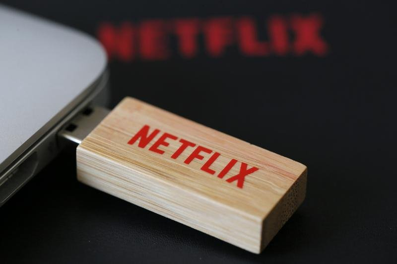 Netflix shares up 4 percent in late trading; due to report results after the bell $NFLX