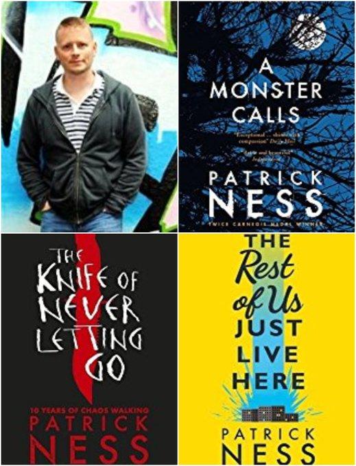 Happy Birthday to author Patrick Ness