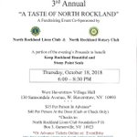 Image for the Tweet beginning: A Taste of North Rockland,