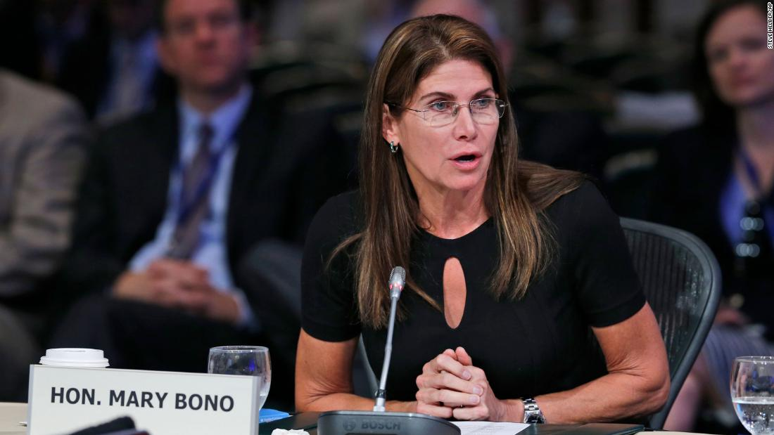 USA Gymnastics resignation: Former congresswoman Mary Bono steps down as interim CEO of the sport's beleaguered governing body after anti-Nike tweet https://t.co/52FjoiMU4T