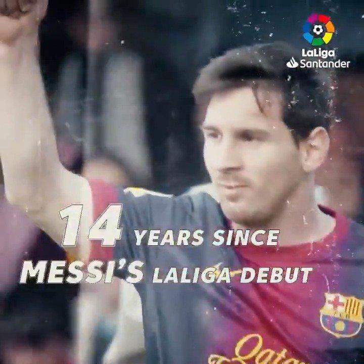 LaLiga's photo on Messi